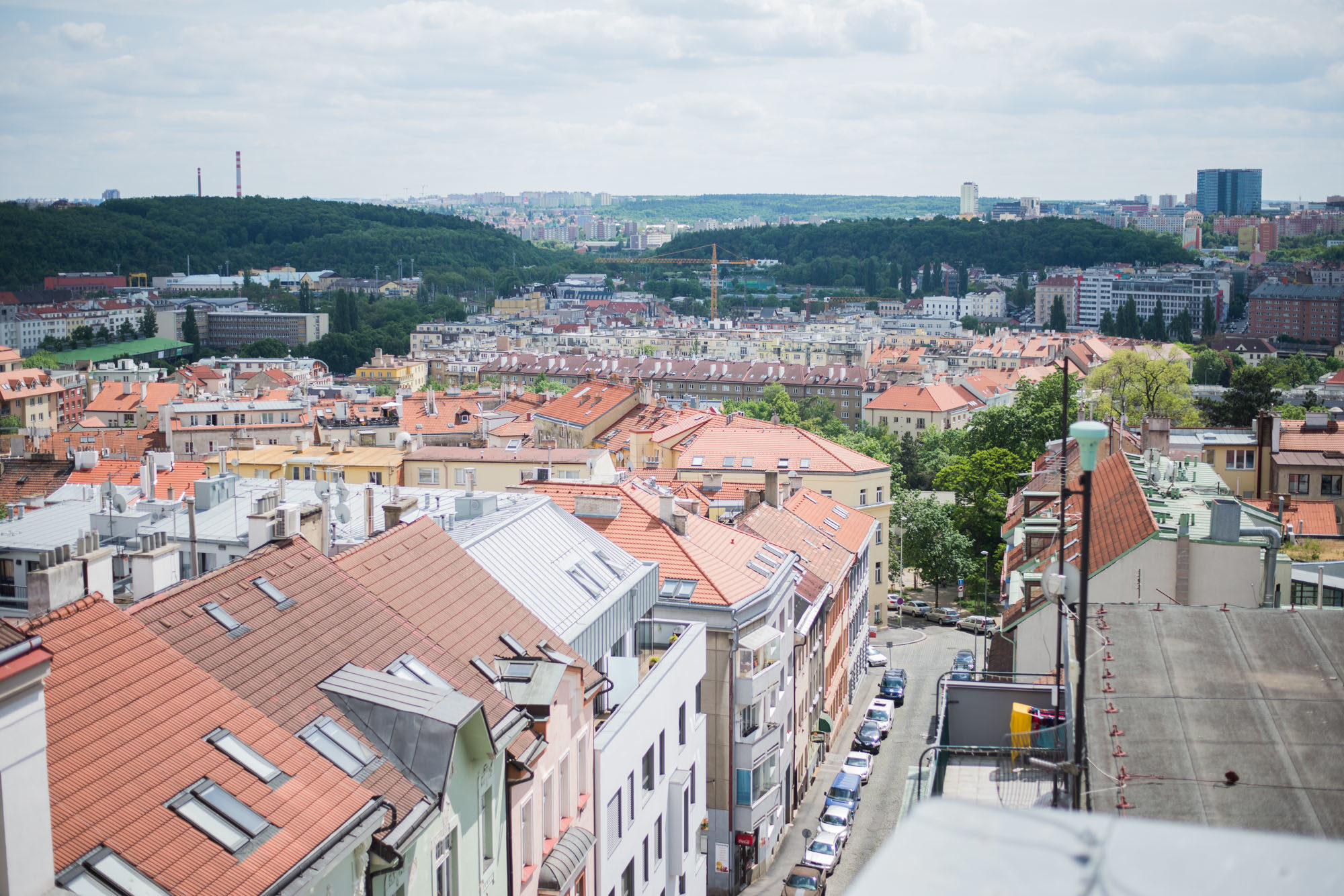 prague from above