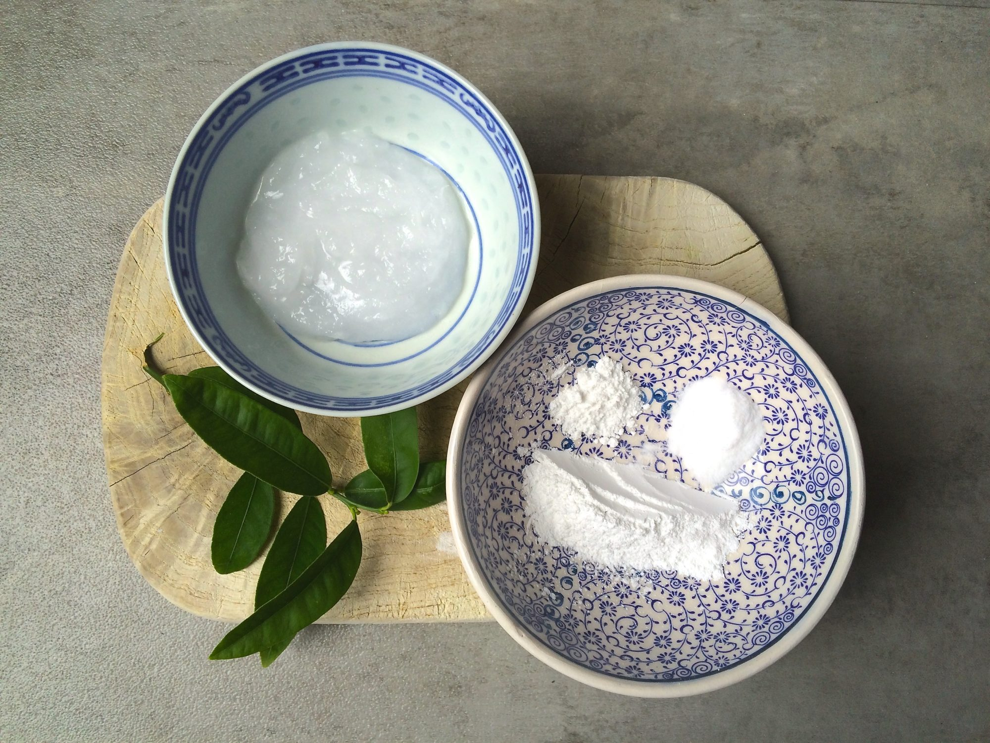 homemade Coconut Deodorant ingredients