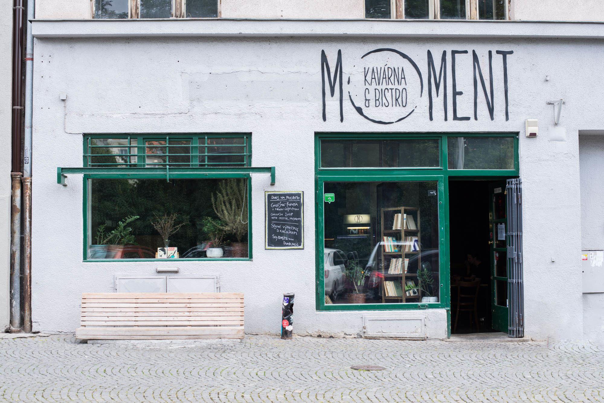 Vegan food guide for prague: moment cafe and bistro