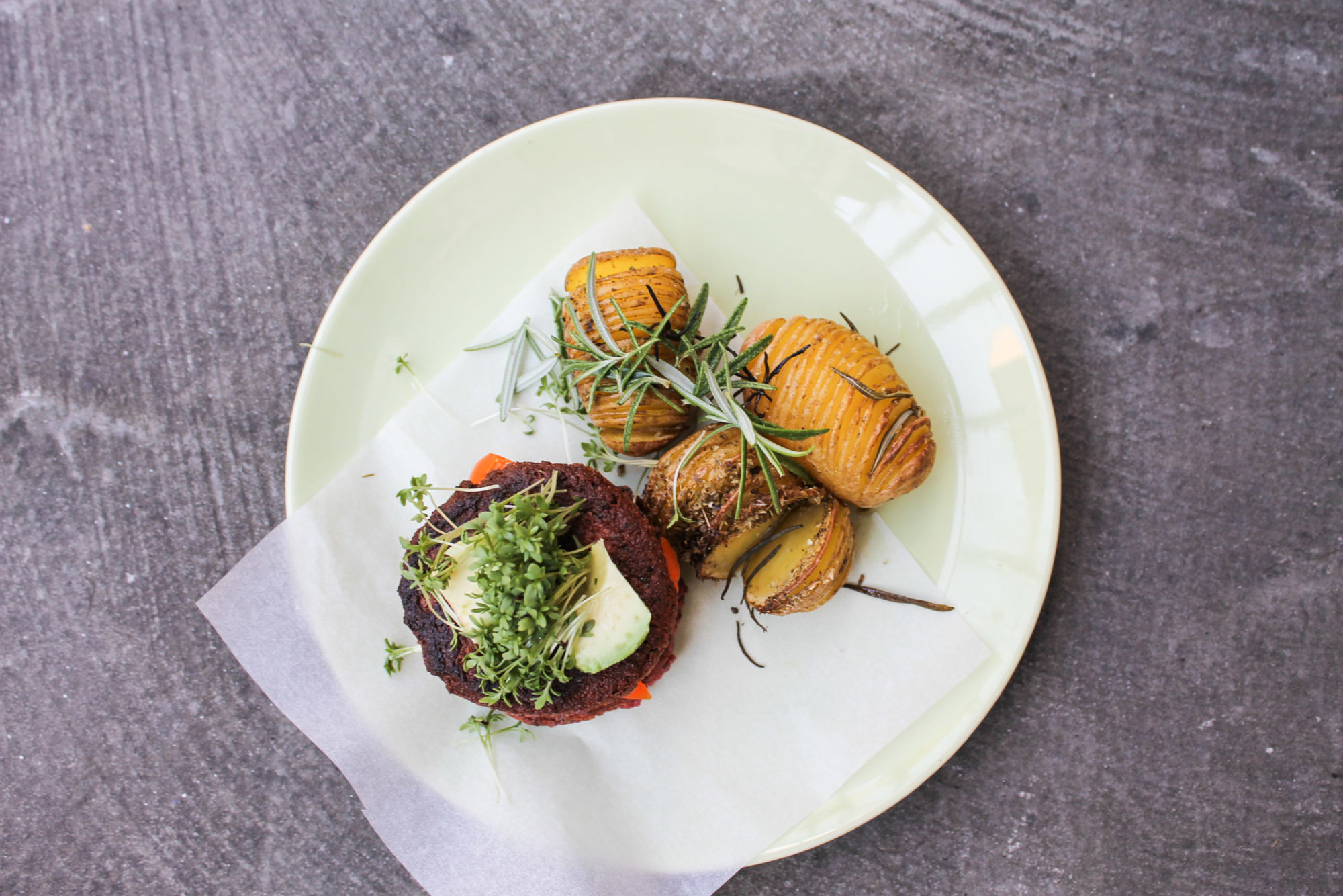 gluten free vegan burger patties tofu beetroot
