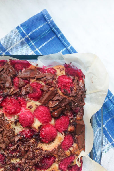Blogger Dinner und veganer Himbeer-Traumkuchen
