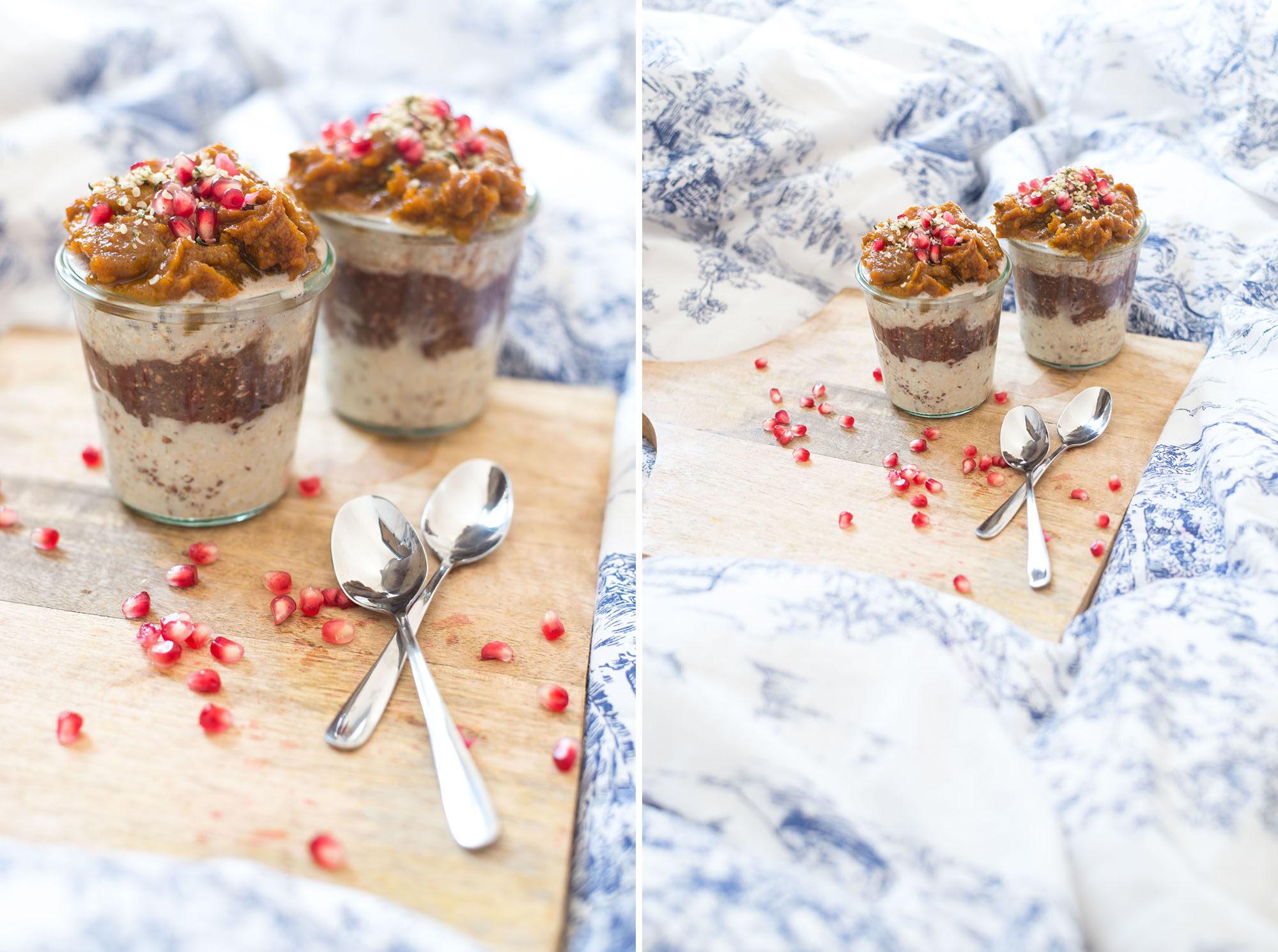 herbst müsli kürbis haferflocken vegan porridge haferbrei dogdays of summer vintage onlineshop graz