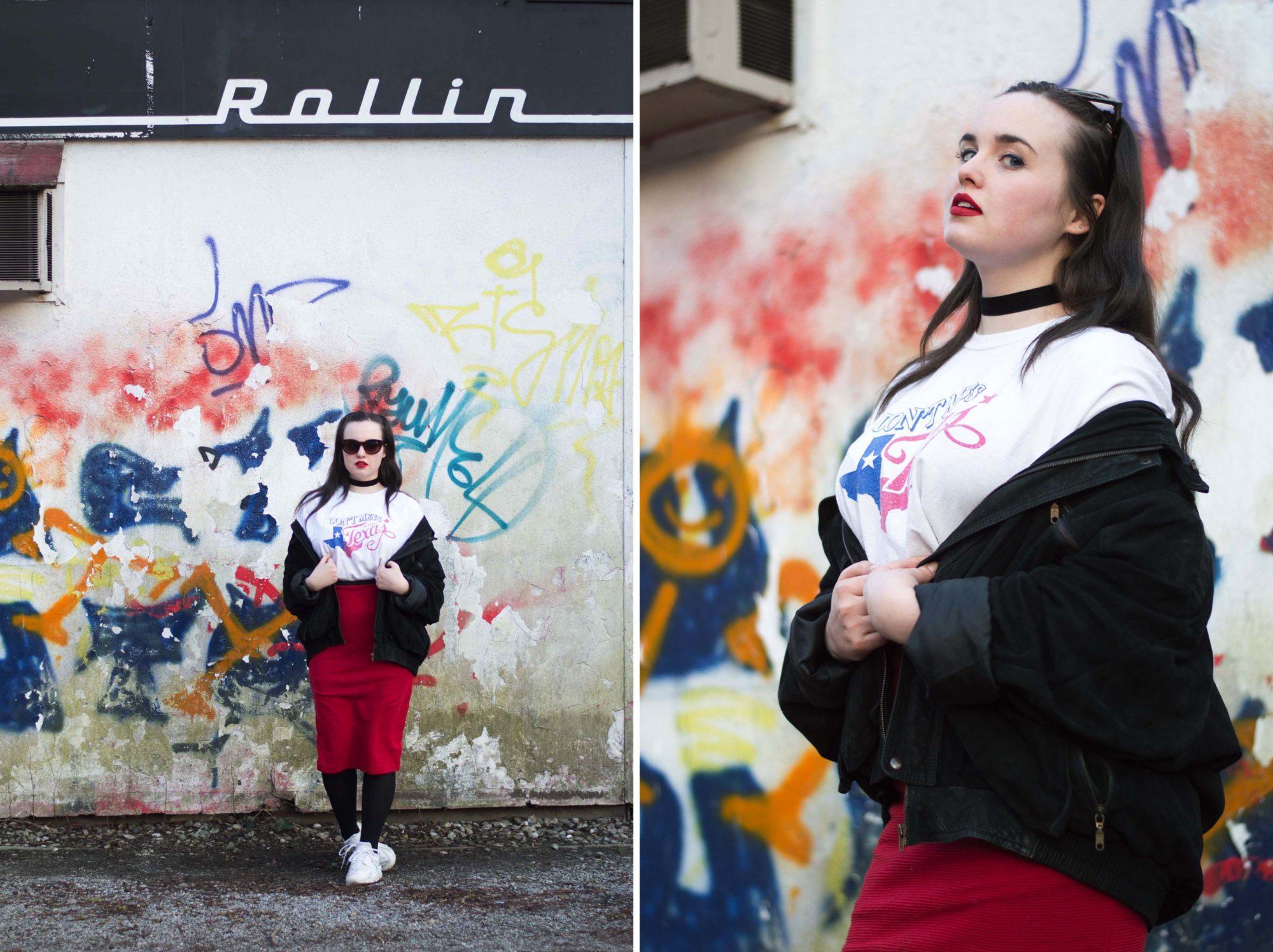 Fashion Revolution Day Fashion Revolution Week Vintage Outfit Dodays of Summer Vintage Graz Shop Onlineshop Österreich Steiermark Europa