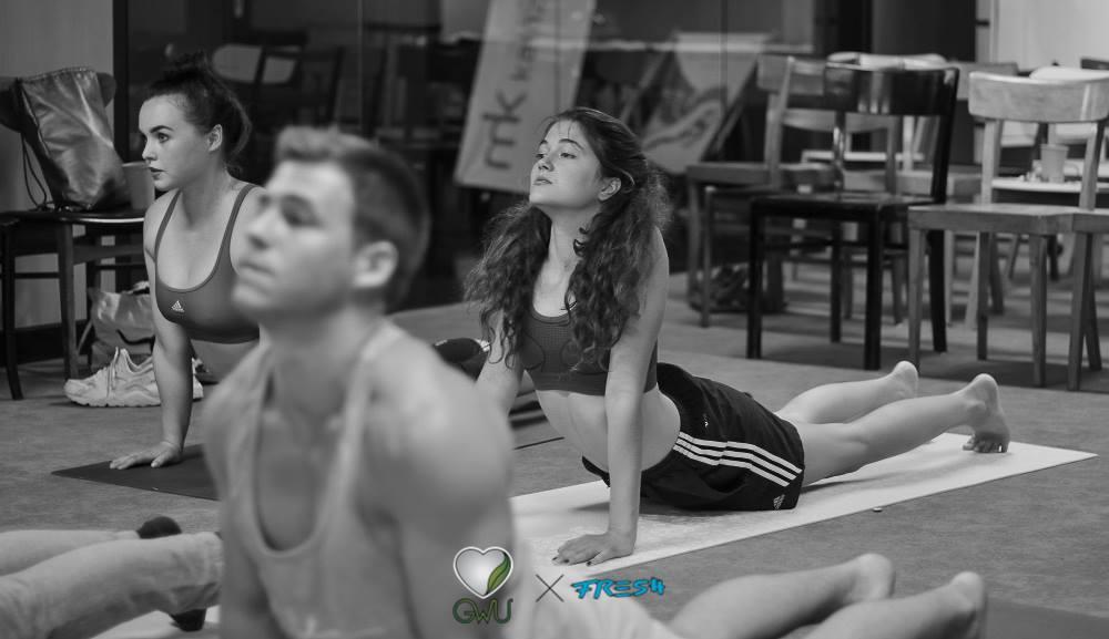 Yoga Life Graz Jung Sportlich Vegan Hot Yoga Event vegan in graz