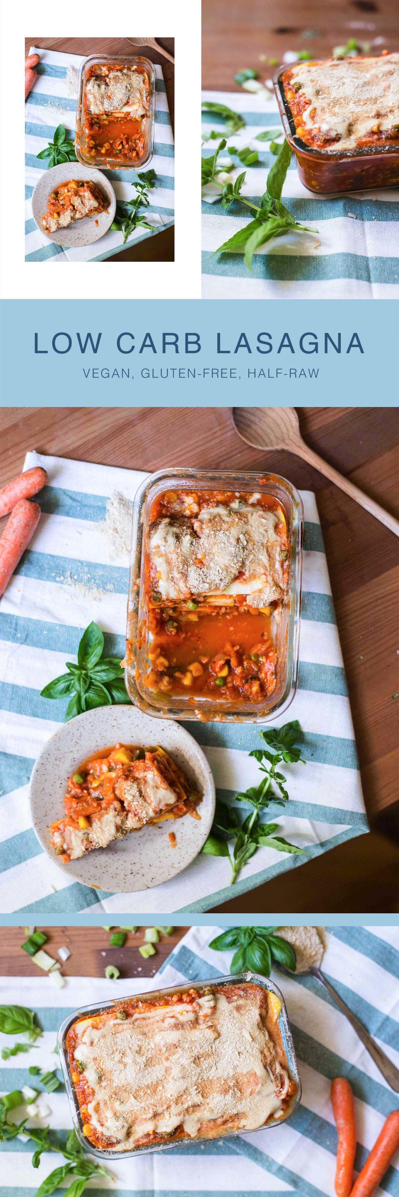 halb roh vegan lasagne gemüselasagne gesund gluten-frei low carb zucchini food blog österreich graz vegetarisch pinterest