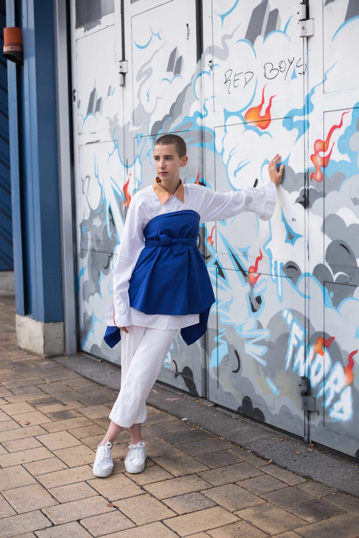 Ein Teil, drei Outfits. Die Vintagebluse. How to Style a vintage blouse. DIY Teile. Dogdays of Summer Vintage Store Onlineshop Graz Steiermark Österreich Europa