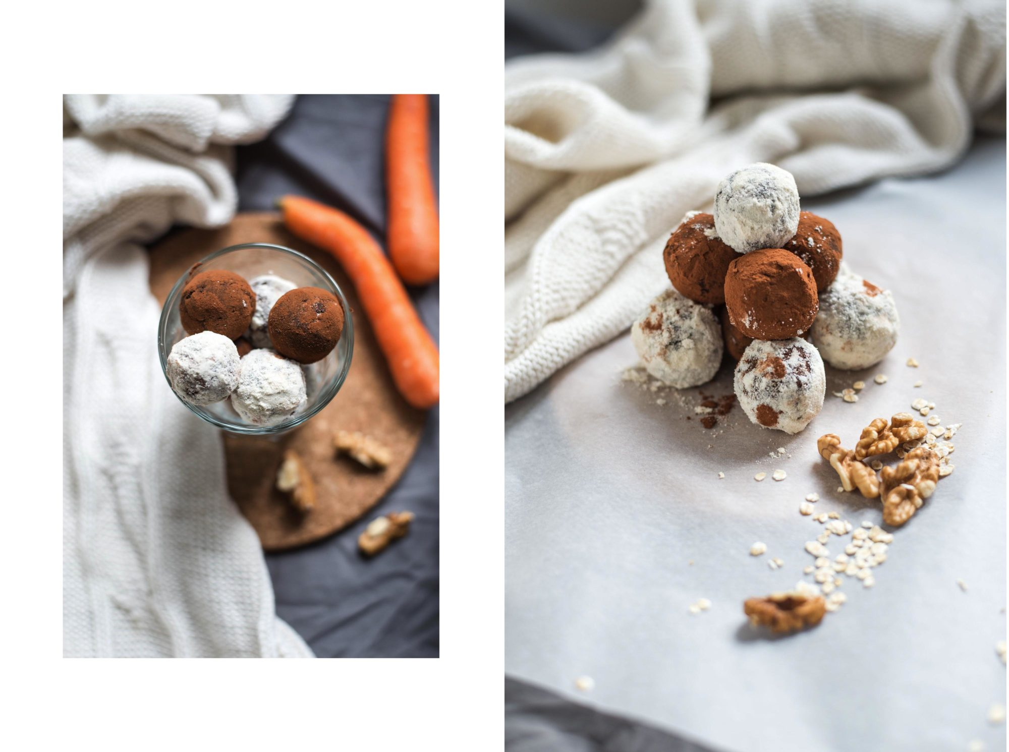 Raw vegan carrot cake gingerbread energy balls gluten free healthy guilt-free graz austria food blog recipe