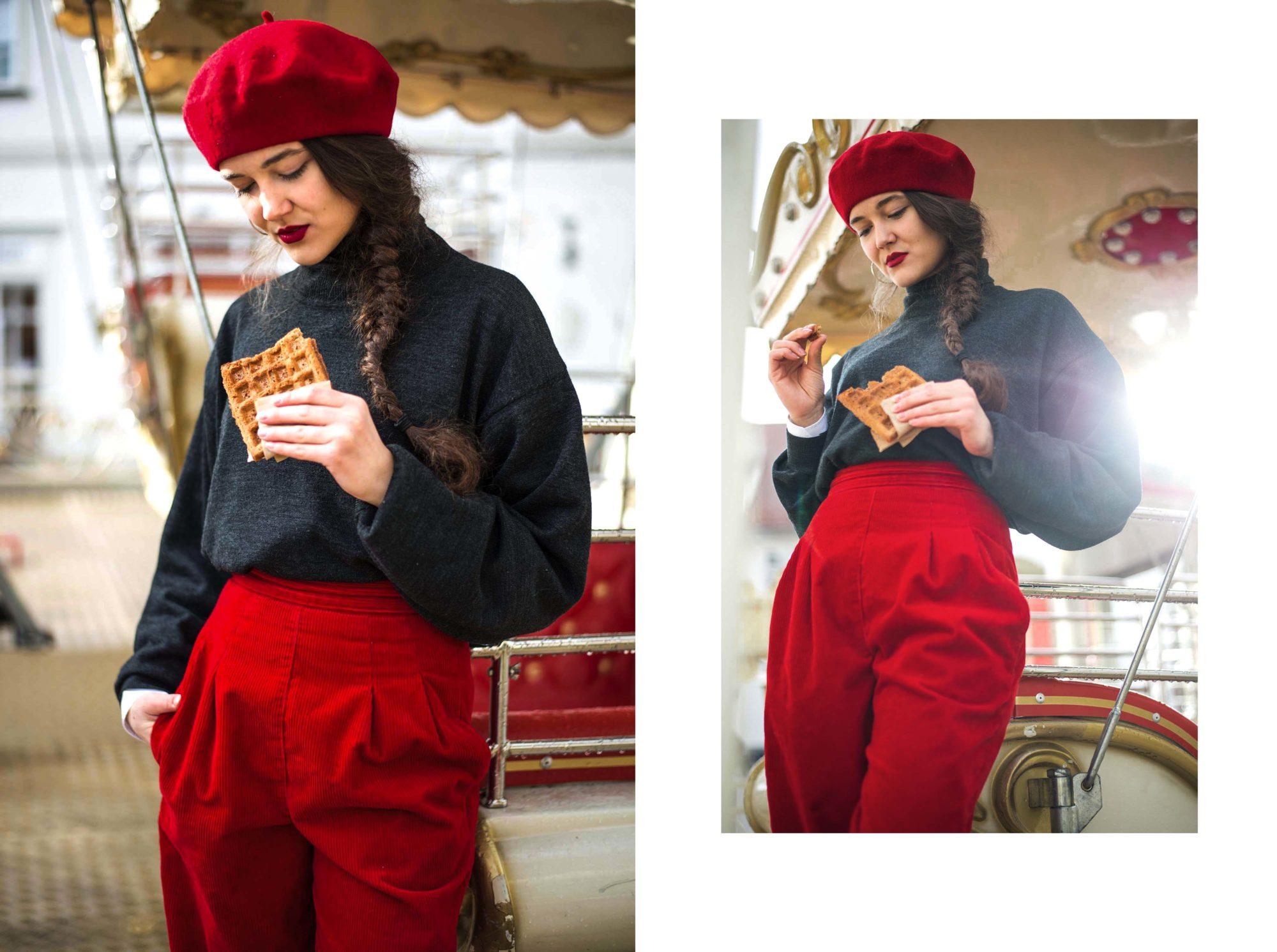Weihnachten Outfit Inspiration Vintage Fashion Mode Retro Graz Dogdays of Summer Vintage Steiermark Österreich