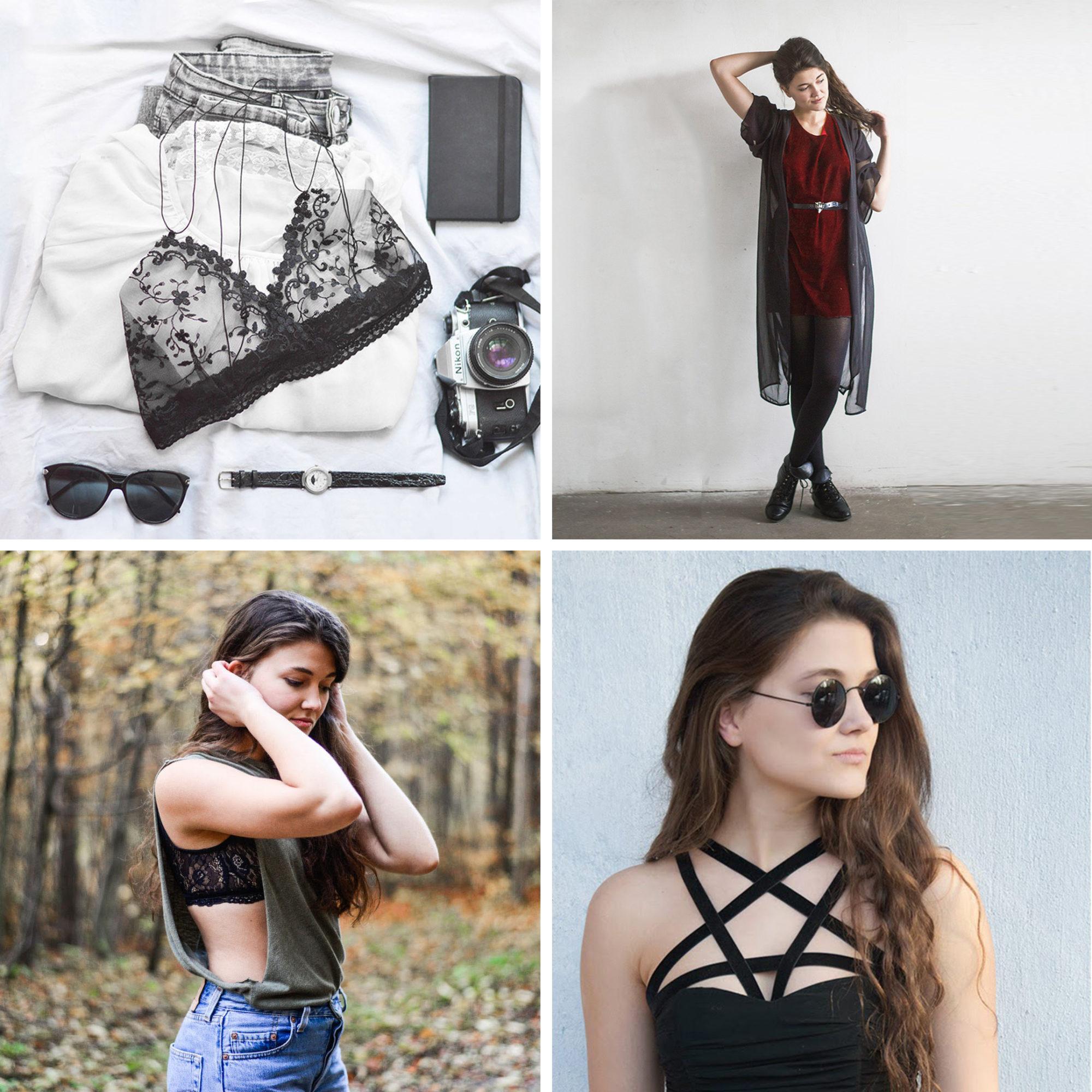 Weltfrauentag Textilindustrie DIY Fashion Bralette Kleid BH
