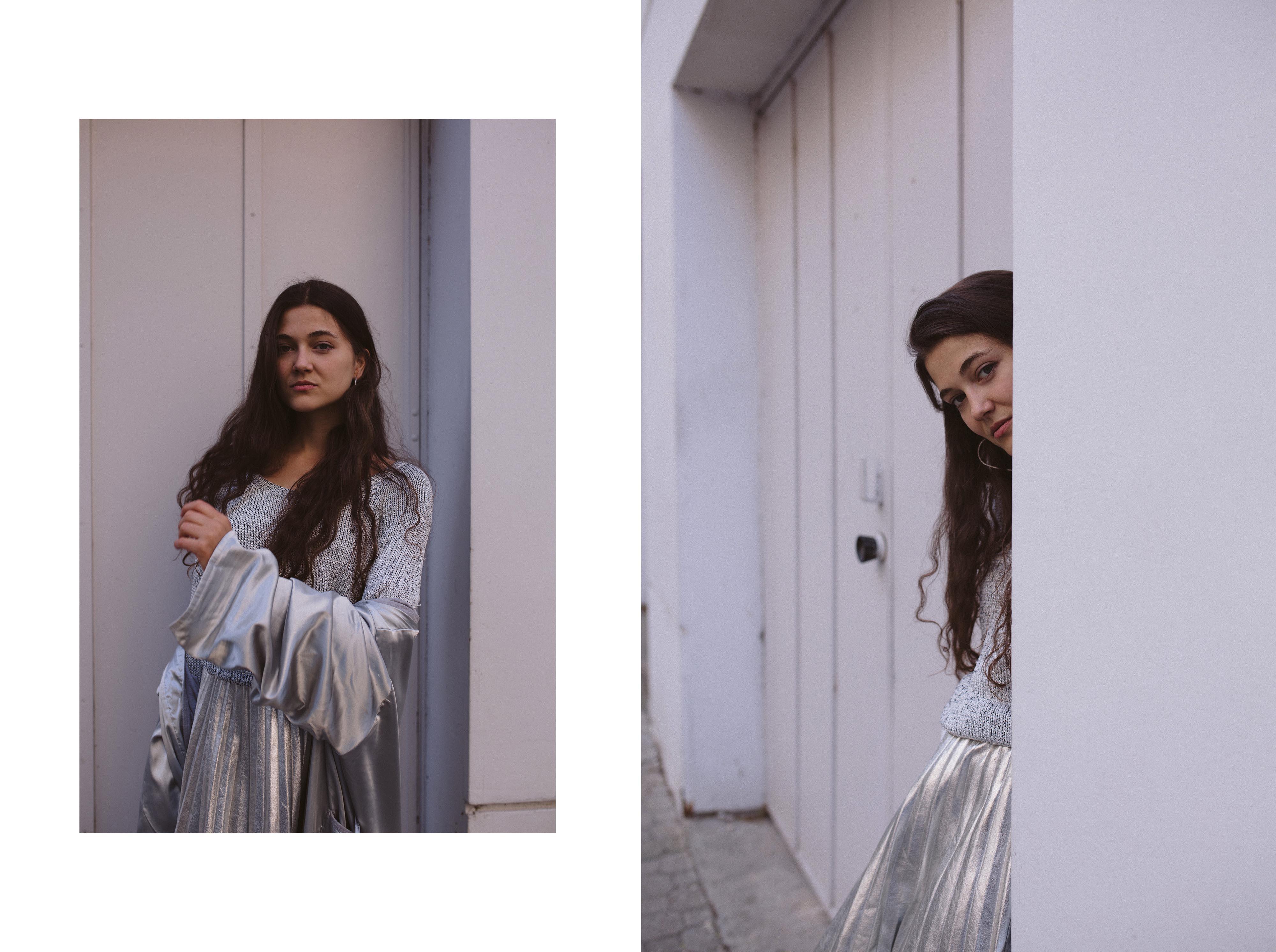 Von Kopf bis Fuß in der selben Farbe Unicolour einfärbige Outfits Monochrom Vintage Outfit Inspiration