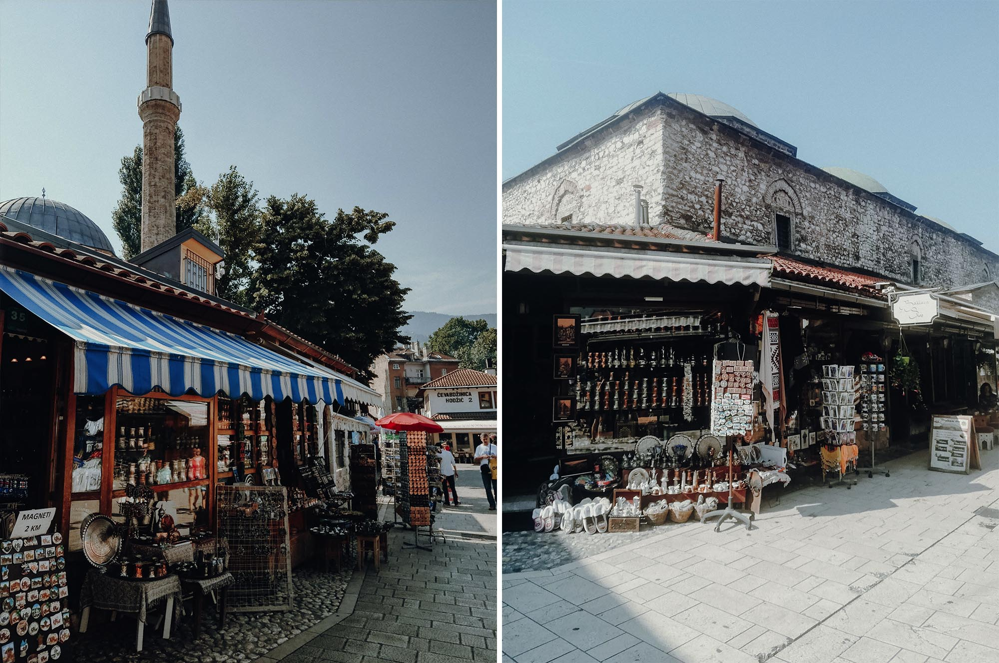 Sarajevo Basar. Roadtrip durch Bosnien Montenegro Kroatien. Am Balkan vegan essen, reisen, fahren, packen. Dogdays of Summer vegan vintage Blog