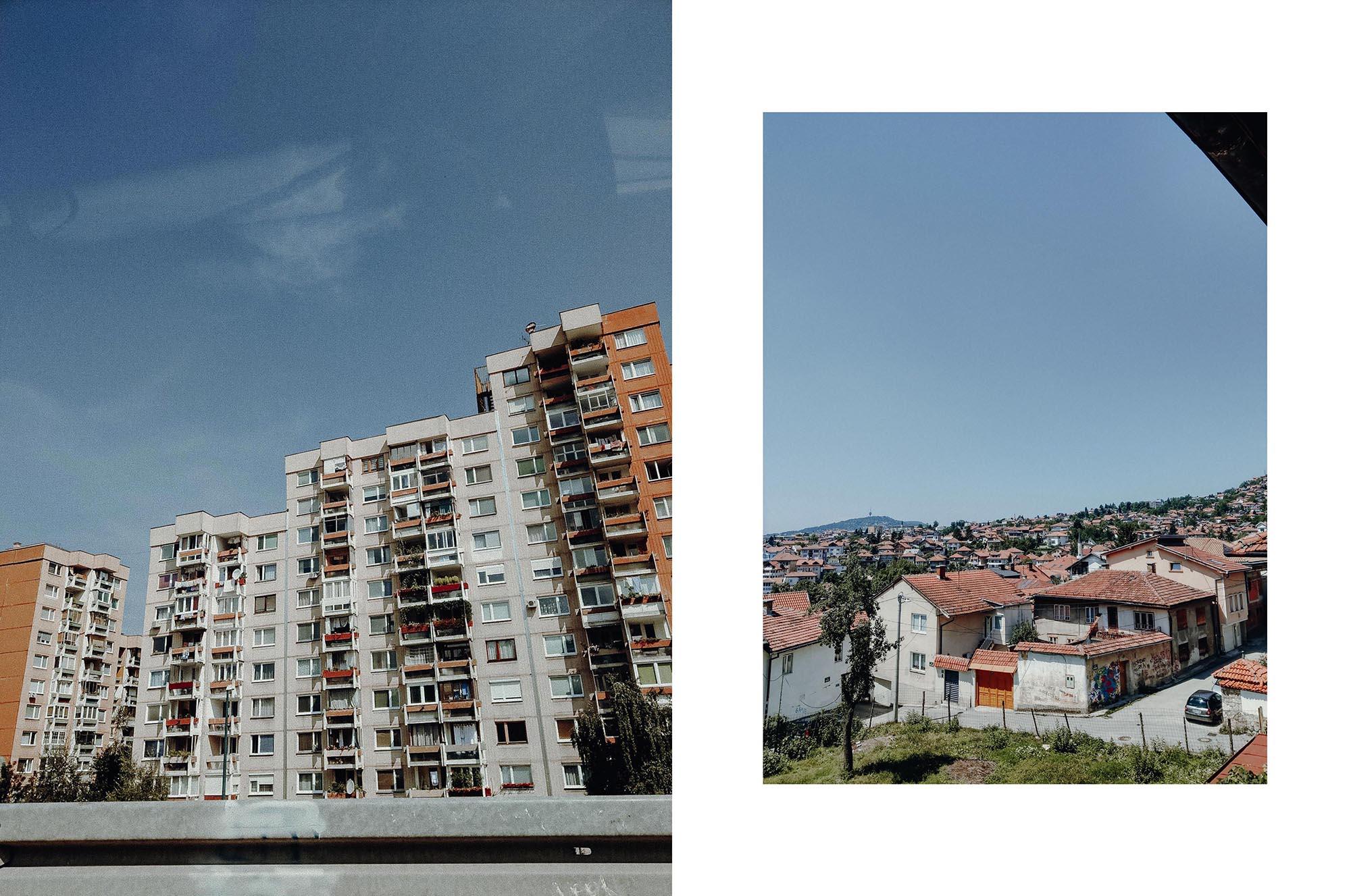 Sarajevo Bosnien und Herzegovina Reisetipp Roadtrip Stadt Häuser