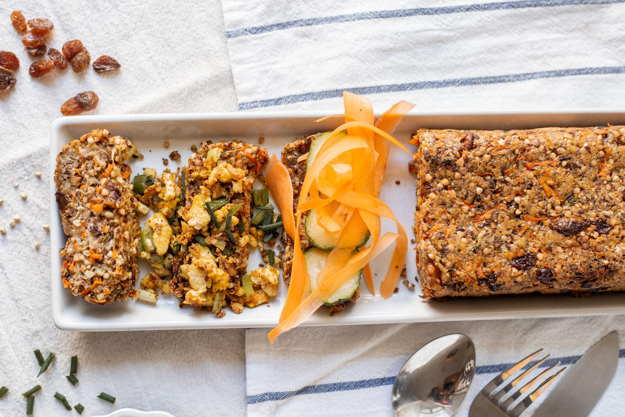 Veganes Rührei Scrambled Tofu Glutenfrei Frühstück Vegan