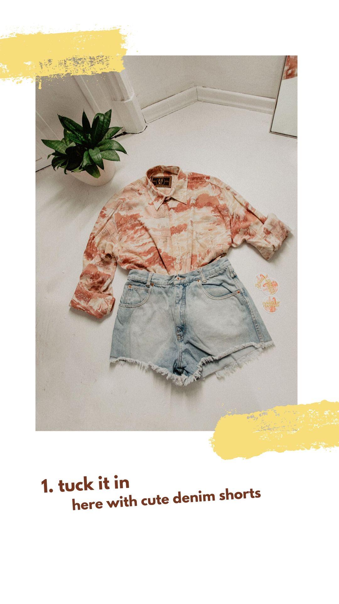 Vintage-Hemd Inspiration