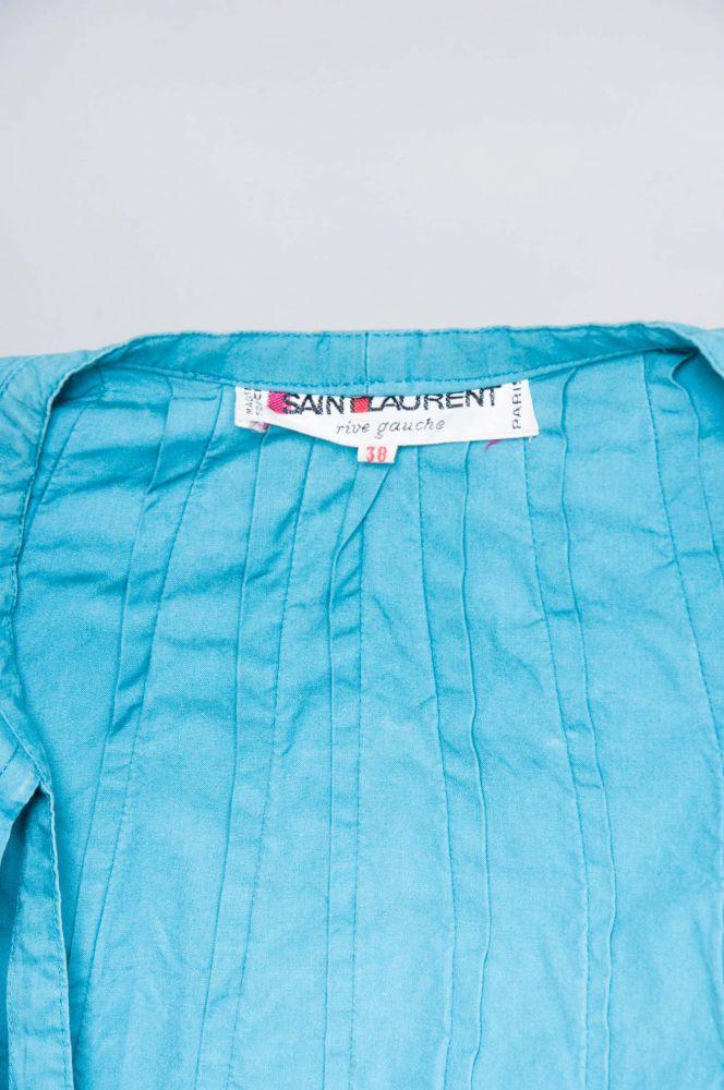 80er Yves Saint Laurent Two Two Blue 5