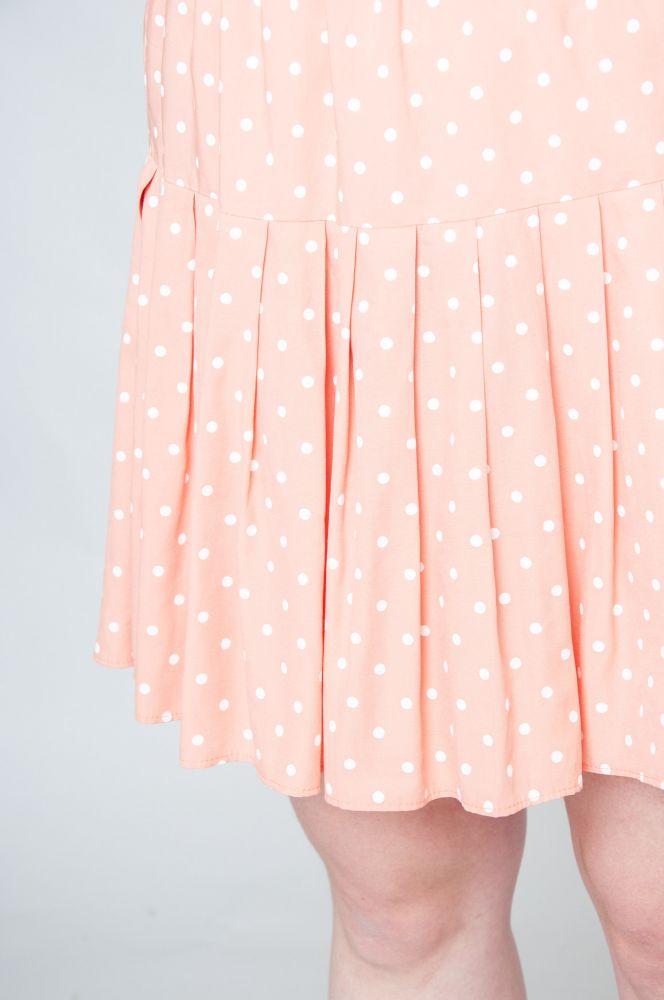 Pink Sky Polka Dot 3