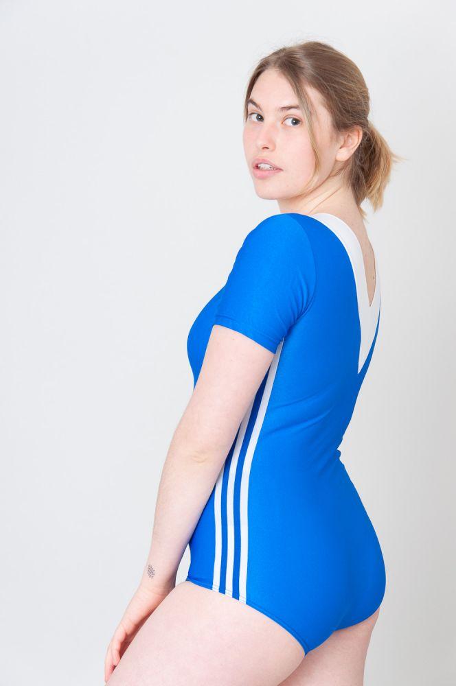 Marine Girl Adidas Badeanzug 2