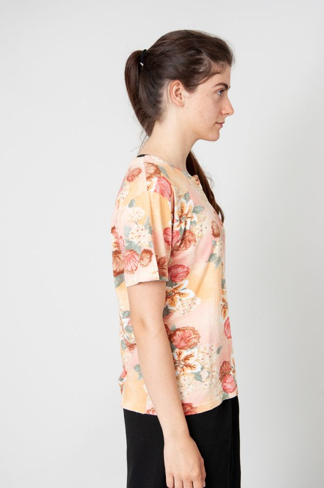 Flowers And Leaves T-Shirt 2