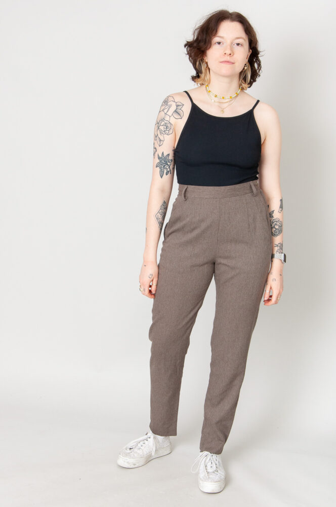 State Of The Art Slim Fit Hose High Waist