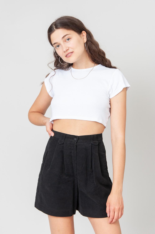 Always Black Shorts High Waist