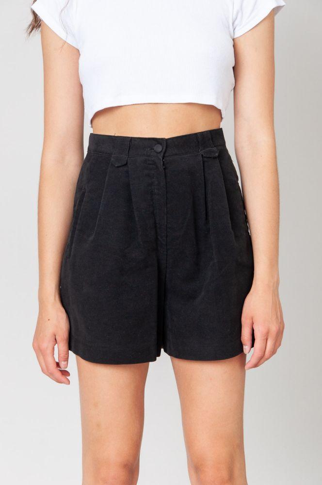 Always Black Shorts High Waist 2