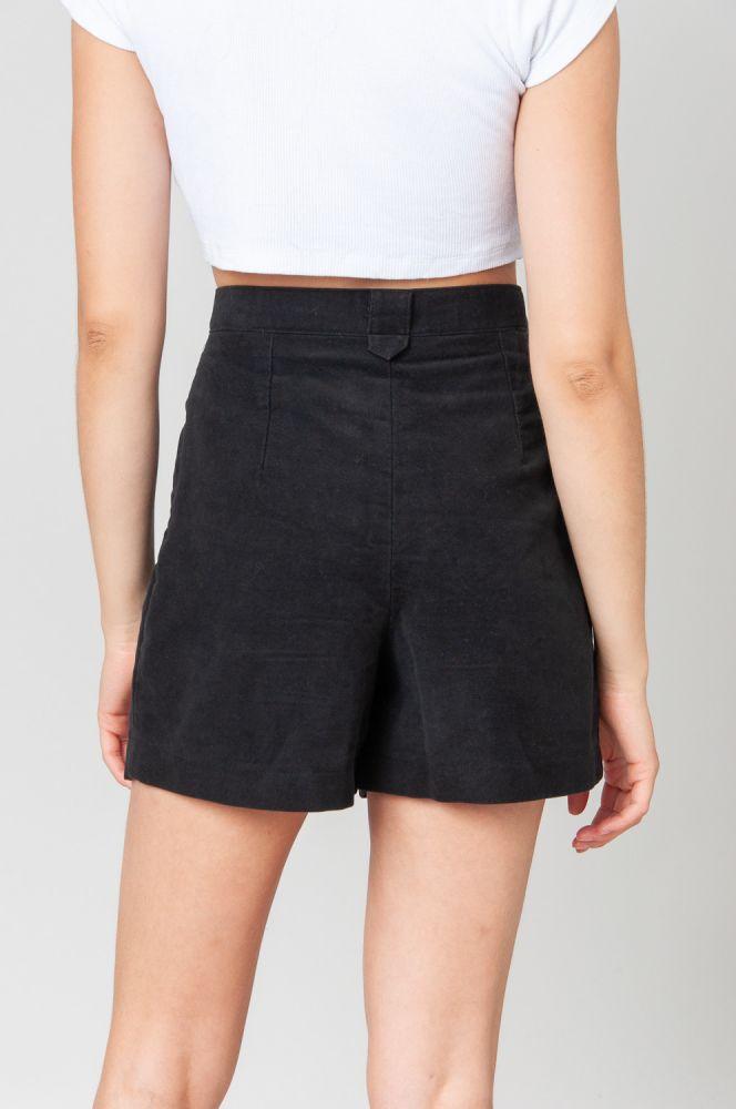 Always Black Shorts High Waist 4