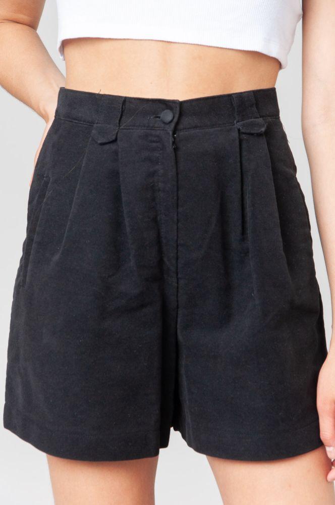 Always Black Shorts High Waist 5