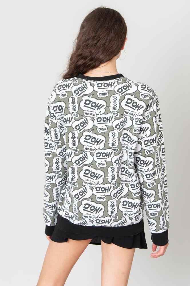 D'Oh Homer Simpsons Sweatshirt 4