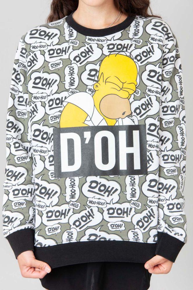 D'Oh Homer Simpsons Sweatshirt 5