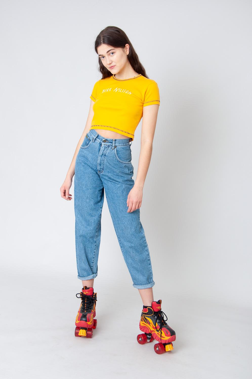 Grifo Mom Jeans High Waist