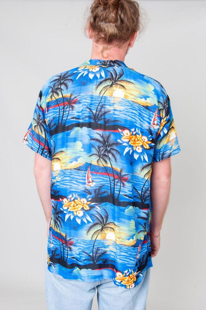 Hawaiian Sunset Kurzarmhemd 3