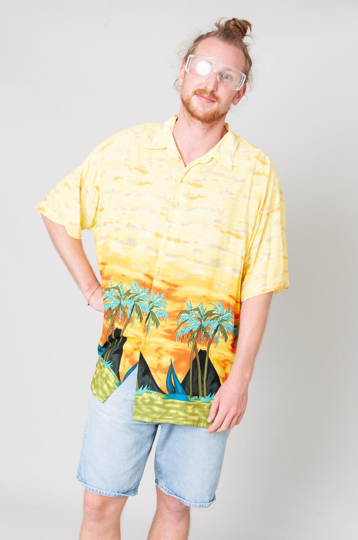Hawaiian Sunset Kurzarmhemd