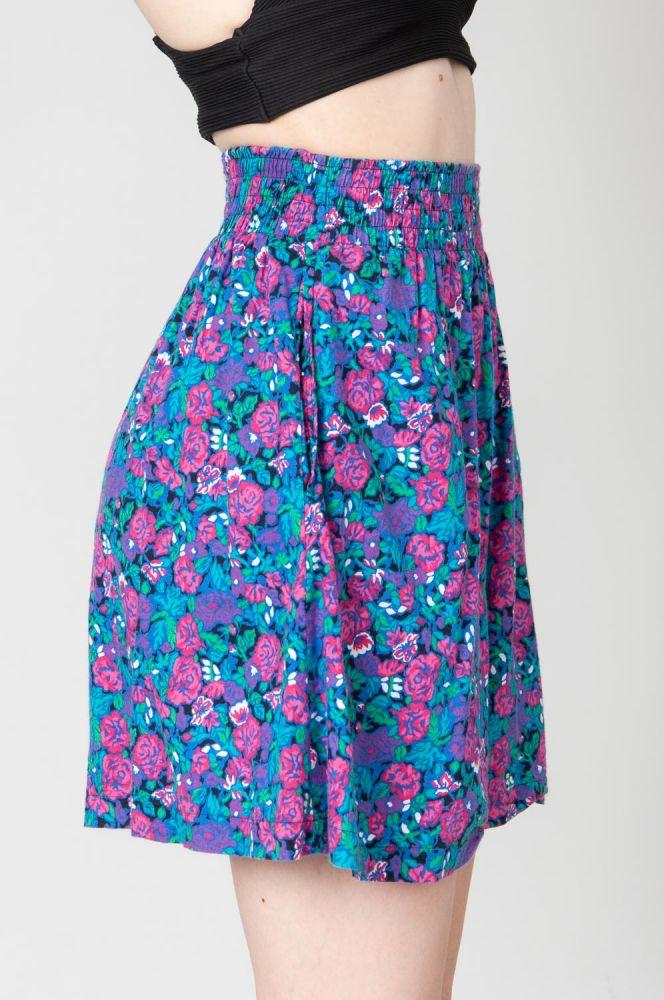 Pink Roses Shorts 3