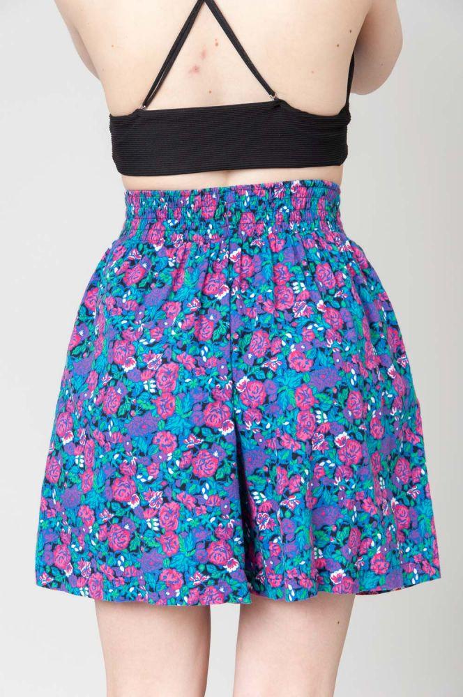 Pink Roses Shorts 5