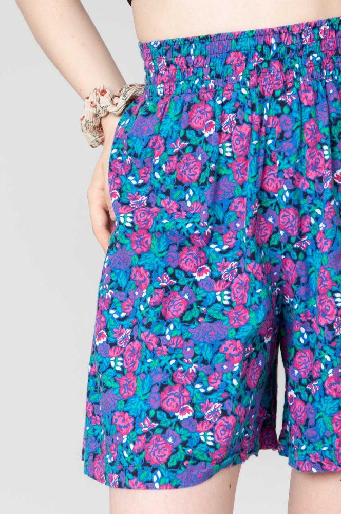 Pink Roses Shorts 4