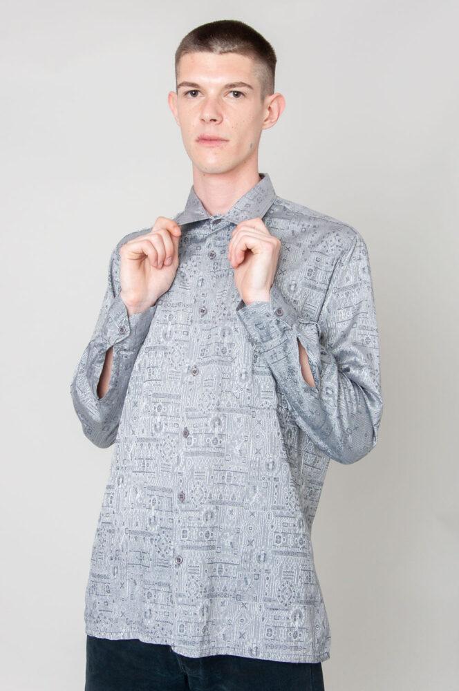 Shiny Shiny Langarmhemd