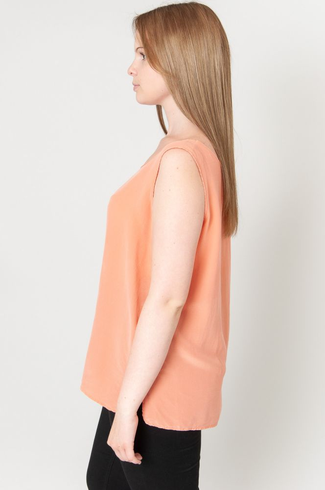 Silky Orange Top 4
