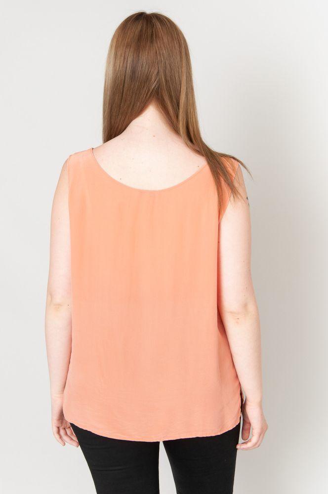 Silky Orange Top 5