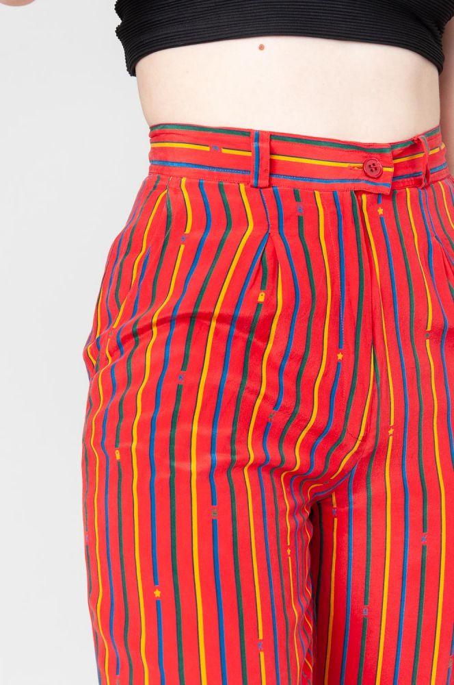 Stripes In Summer Shorts High Waist 5