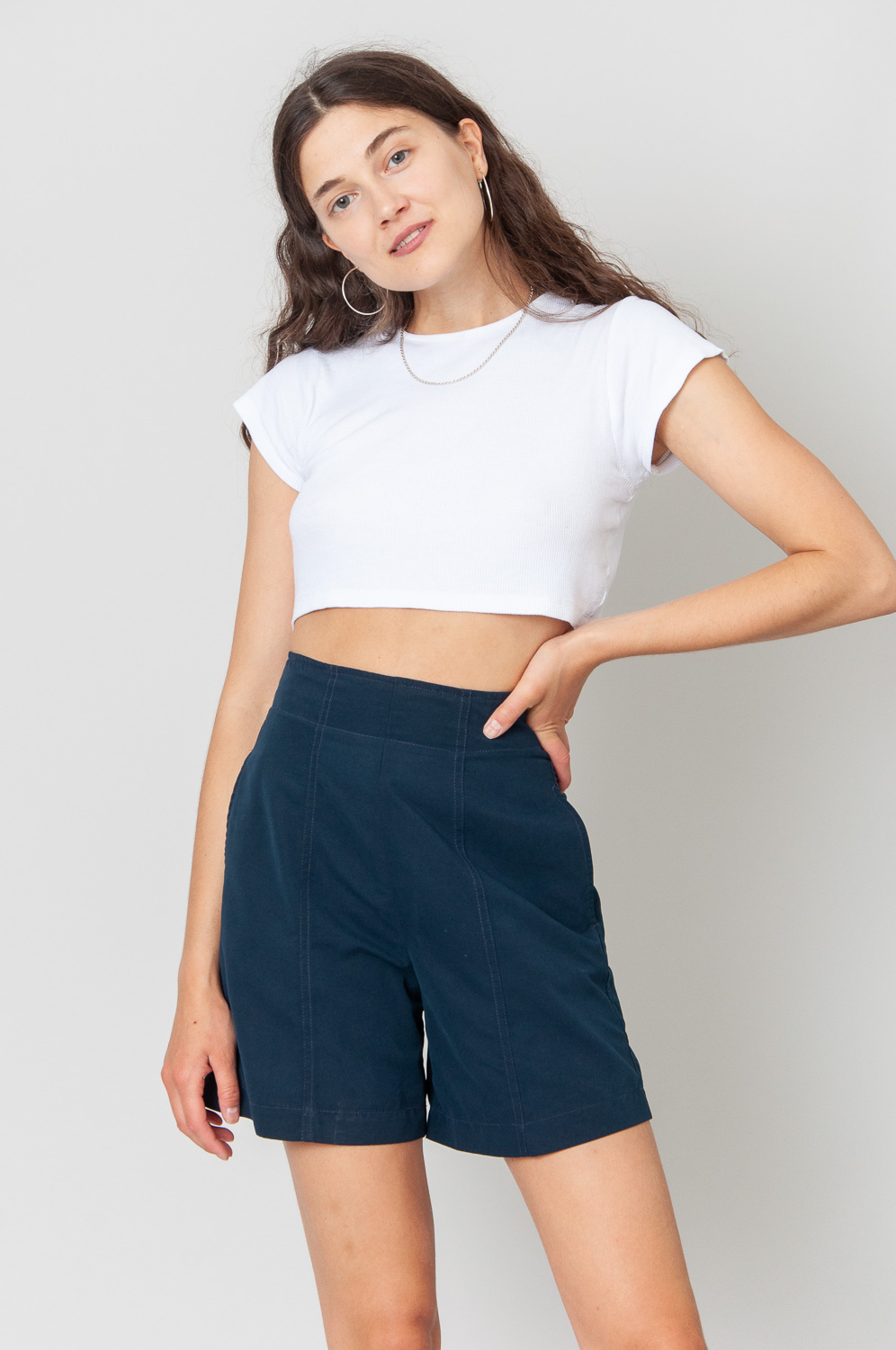 United Colors Of Benetton Shorts High Waist