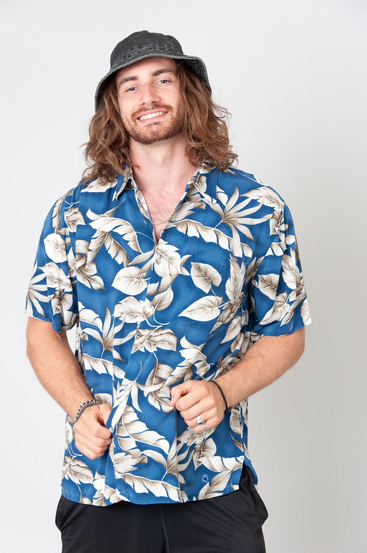 Hawaii Leaves Kurzarmhemd