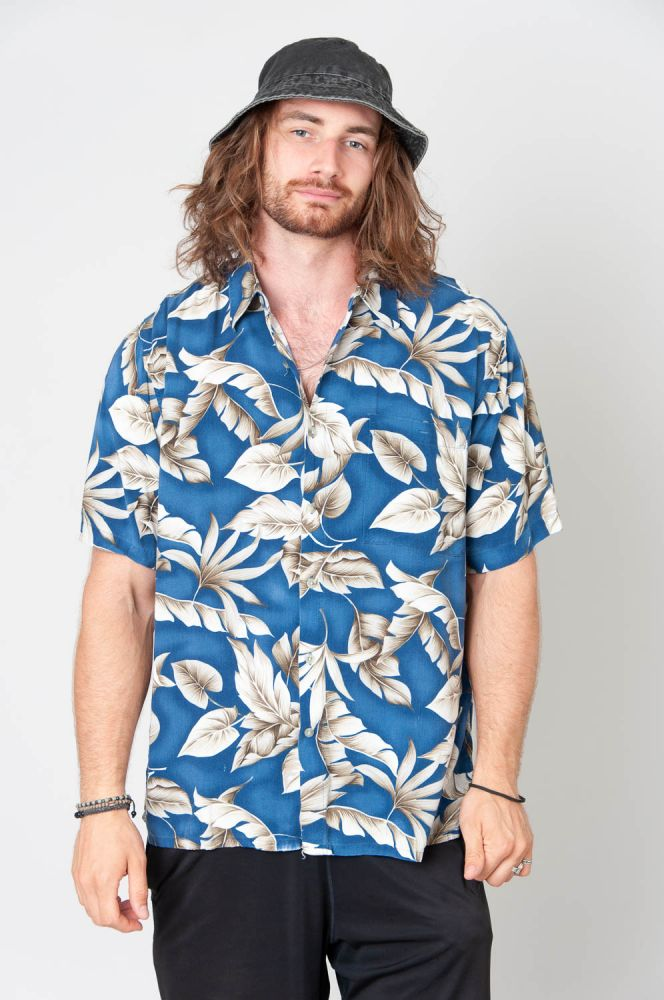 Hawaii Leaves Kurzarmhemd 4