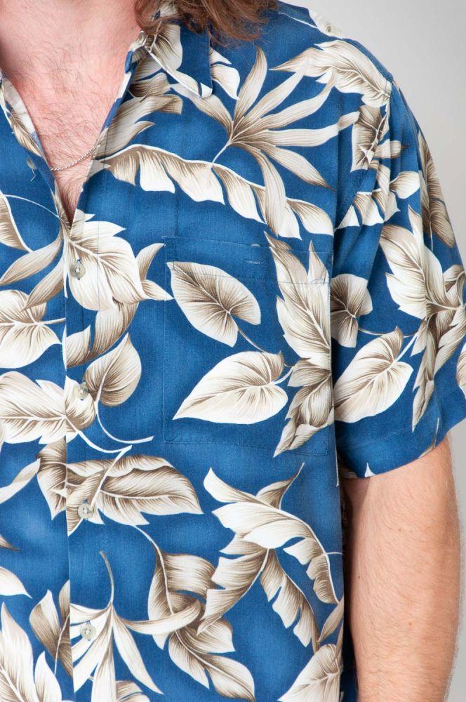 Hawaii Leaves Kurzarmhemd 3