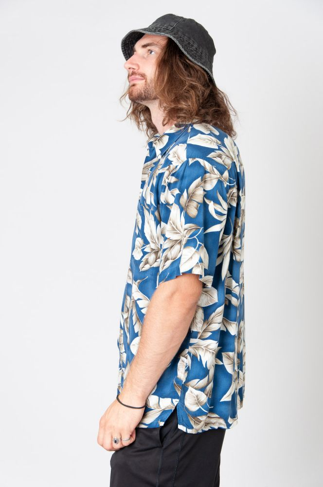 Hawaii Leaves Kurzarmhemd 2