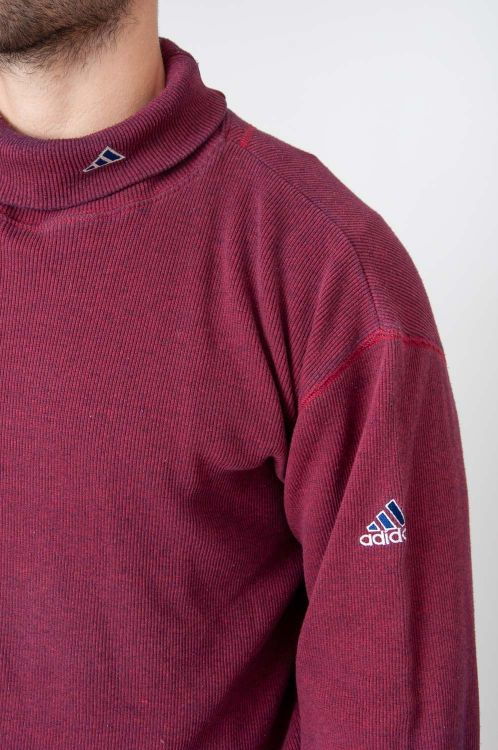 90er Adidas Ripp Rollkragen Longshirt 3