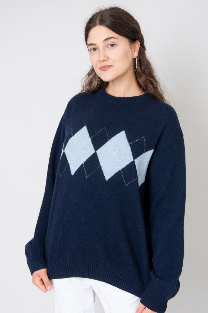College Style Strickpullover 2