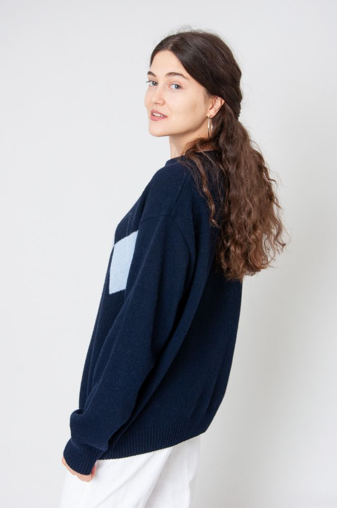 College Style Strickpullover 4