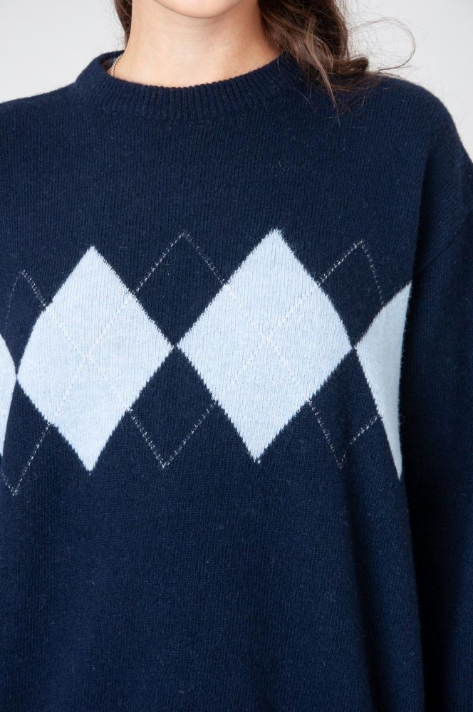 College Style Strickpullover 5