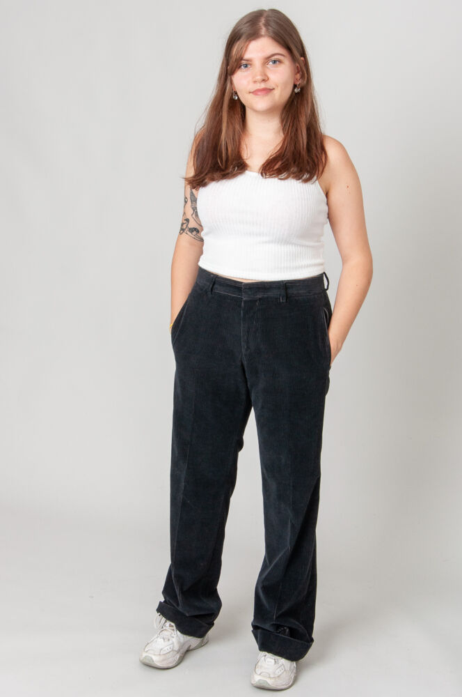 Just The Right Fit Cordhose Mid Waist