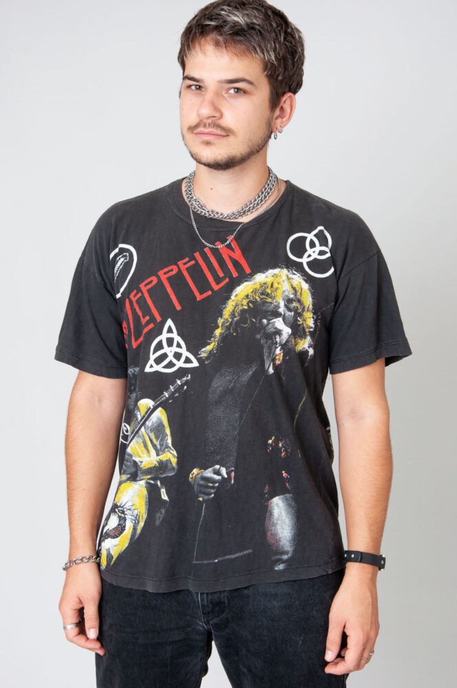Super Rare Led Zeppelin Knebworth 1979 T-Shirt